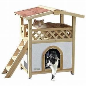 Cabane Pour Chat Exterieur Pas Cher : cabane pour chat achat vente cabane pour chat pas cher cdiscount cabanes de jardin ~ Farleysfitness.com Idées de Décoration