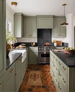 8, Green, Kitchen, Cabinets, Ideas