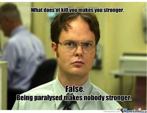 False Quotes Meme - dwight schrute does it again by pennywise meme center