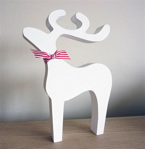 christmas reindeer decoration reindeer decoration letter of recommendation