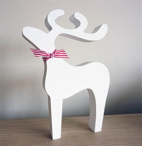 christmas reindeer decoration   cherub design