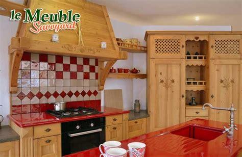 meuble de cuisine style montagne chaios com