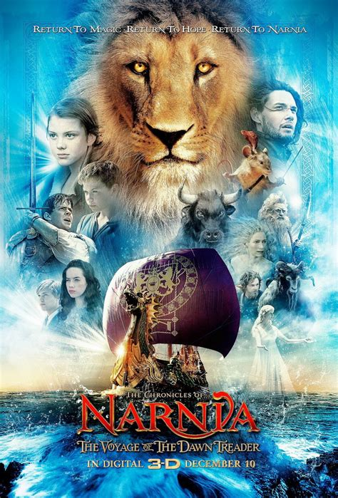"""""""the Chronicles Of Narnia The Voyage Of The Dawn Treader"""