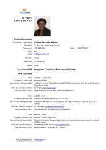 resume driving license exle cv elizabeth maloba