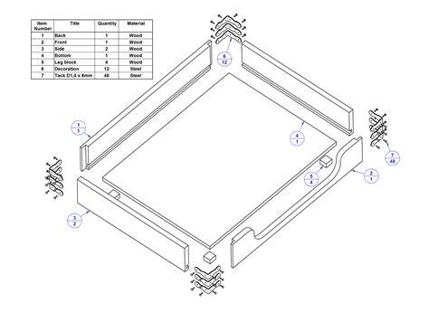 stacking desk trays plan