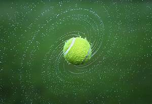 Fondo de Pantalla de Pelota De Tenis Bola Tenis Agua Giro Professor Falken