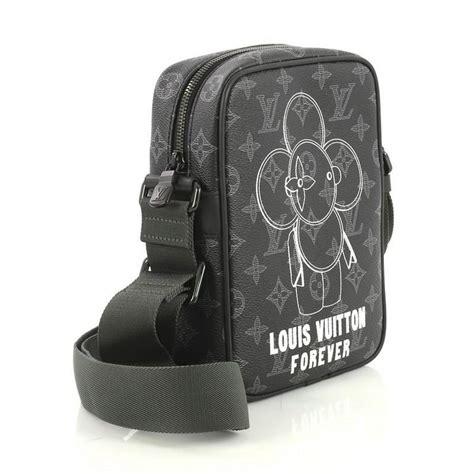 louis vuitton danube handbag limited edition vivienne monogram canvas pm  stdibs