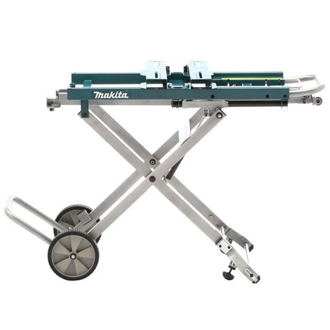 makita deawst portable mitre  stand  trolley