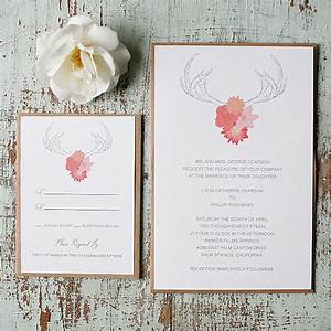 Antler wedding invitation 72 beautiful wedding invite for Free printable antler wedding invitations