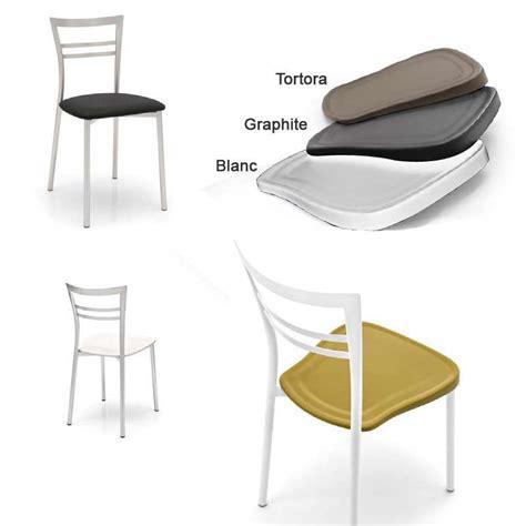 chaises de cuisine design chaise de cuisine design en métal go 4 pieds tables