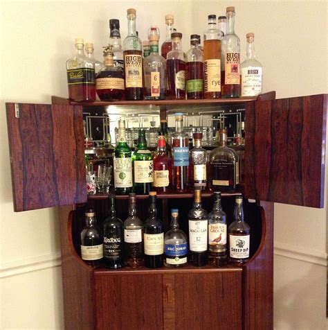 Waypoint White Kitchen Cabinets by Whisky Collection Display Cabinet Bar Cabinet