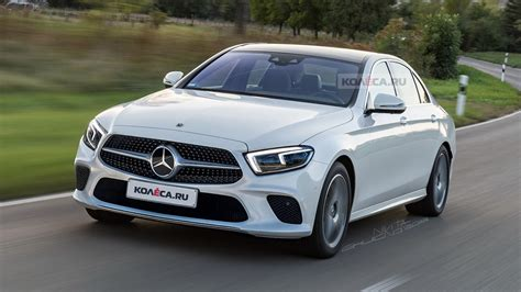 russian media envisage   mercedes  class facelift