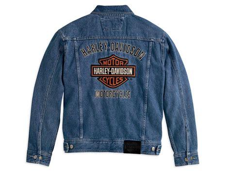 99040-08vm Harley-davidson Jeansjacke Bar & Shield Im