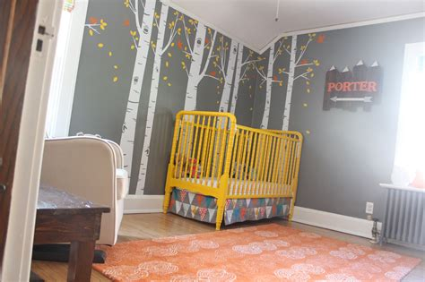 bright woodland theme nursery project nursery