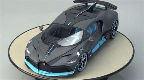 Bburago bugatti divo 2019 (cinza fosco) 1/18. Bugatti Divo 2018 Bburago 1:18 - YouTube