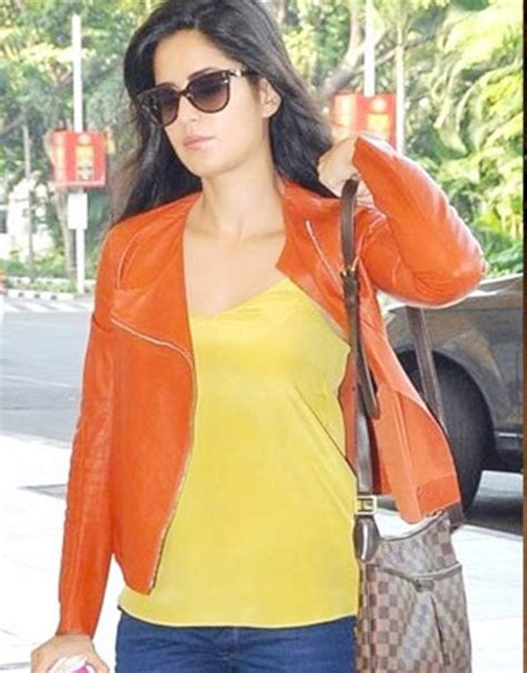 bollywood actresses  rock leather jacket