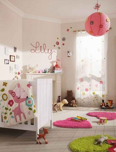 decoration chambre fille idee