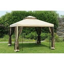 sunjoy     easy gazebo canopy replacement set buy   uae outdoors