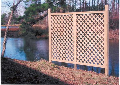 lattice privacy screen outdoor vinyl lattice privacy screens ft cap and trim with copper caps on 8 x 8 post