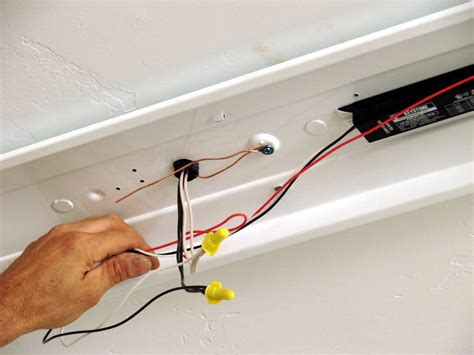 how to replace a light fixture ballast