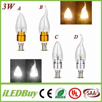 Led Dimmable Candle Bulb Power E12 E27