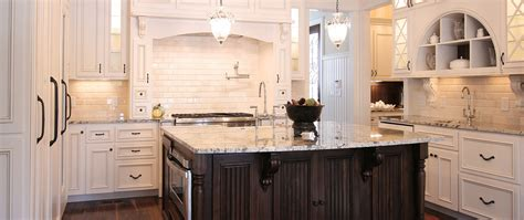 Galley Style Kitchen Design Ideas - classic white cabinetry project 4 walker woodworking