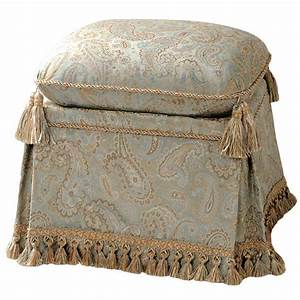 Vintage, Vanity, Chair, With, Skirt, And, Extra, Cushion