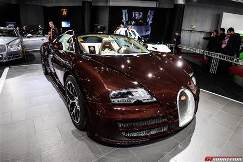 Chocolate Carbon Fiber Bugatti Veyron Grand