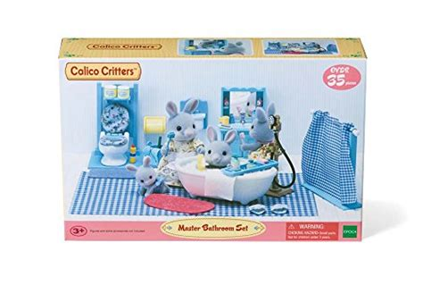 calico critters master bathroom set accessories ebay