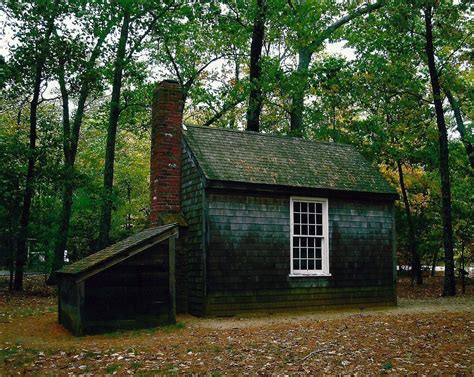 A Replica Of Henry David Thoreau's Famous Tiny House, 10