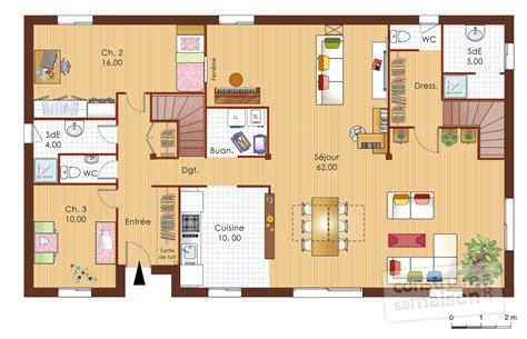 maison bois 1 d 233 du plan de maison bois 1 faire construire sa maison