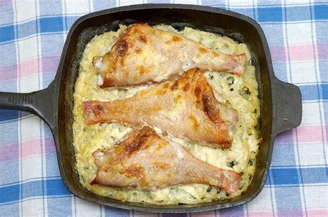 poireau cuisine recette lotte aux poireaux