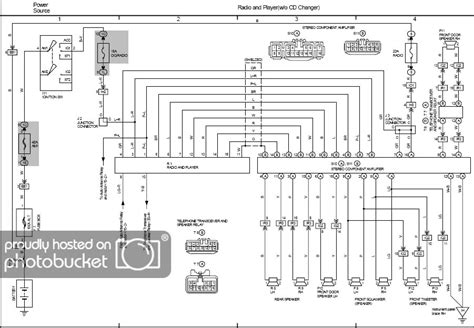 Radio Diagrams Wiring One More Time Clublexus