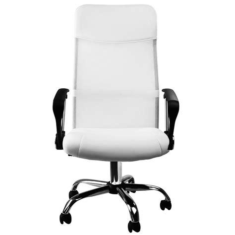 fauteuil bureau inclinable fauteuil chaise de bureau blanche inclinable ergonomique
