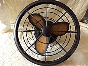 bentley ii outdoor tarnished bronze oscillating ceiling fan with wall