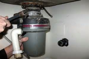 miscellaneous garbage disposal leaking from bottom