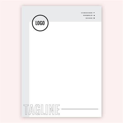 gray  black letterhead template   vectors
