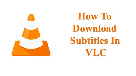 The subtitles for the video or movie you are watching will be added to the vlc media player if you have downloaded the proper subtitle. How to download subtitles in VLC media player - YouTube