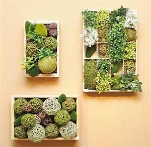Tableau Végétal Mural : les 10 meilleures id es de la cat gorie mur vegetal sur ~ Premium-room.com Idées de Décoration