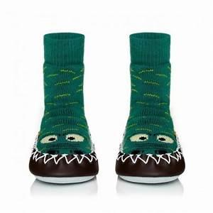Chausson Chaussette Bébé : chaussons chaussettes moccis crocodile b b enfant et adulte ~ Teatrodelosmanantiales.com Idées de Décoration