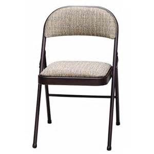 meco folding chairs grey meco samsonite 037 02 3s4 sudden comfort fabric seat