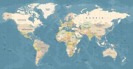 Mapa sveta kakvu poznajemo je laž, evo kako kontinenti i ...