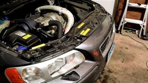 volvo sr front bumper removal hid ballast headlight fog