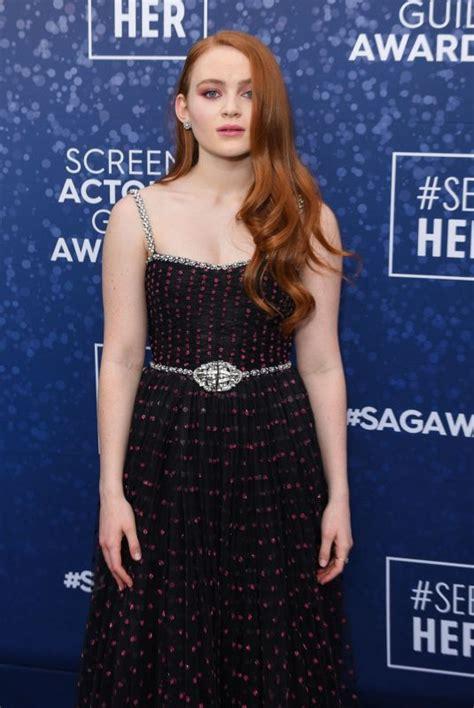 sadie sink   annual screen actors guild awards