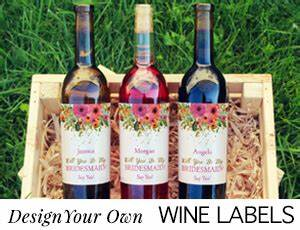 wine labels beer labels custom bottled water bottle With design your own wine labels free