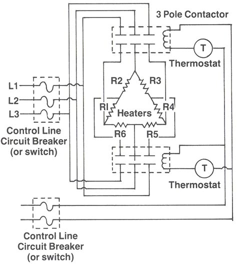 3 phase electric heater wiring diagram wiring diagrams