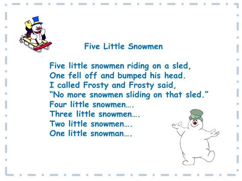 rockin with the five snowmen song and song chart 732   f034d3fed503d1844851a7bbc266214d