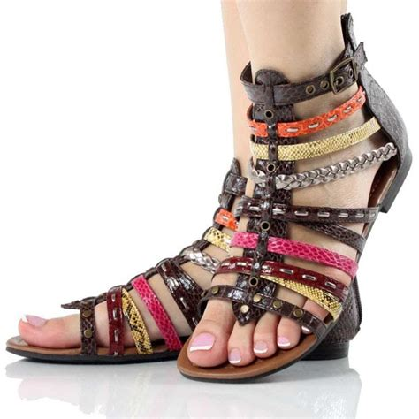 shoes trend  braided sandals summer shoes