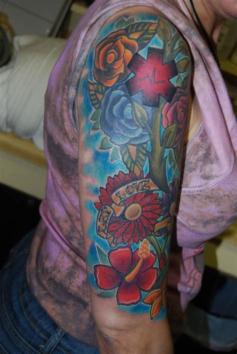 25 Sleeve Tattoos for Girls Design Ideas - MagMent