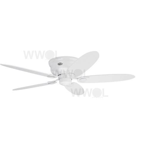 low profile white ceiling fan low profile iii white ceiling fan